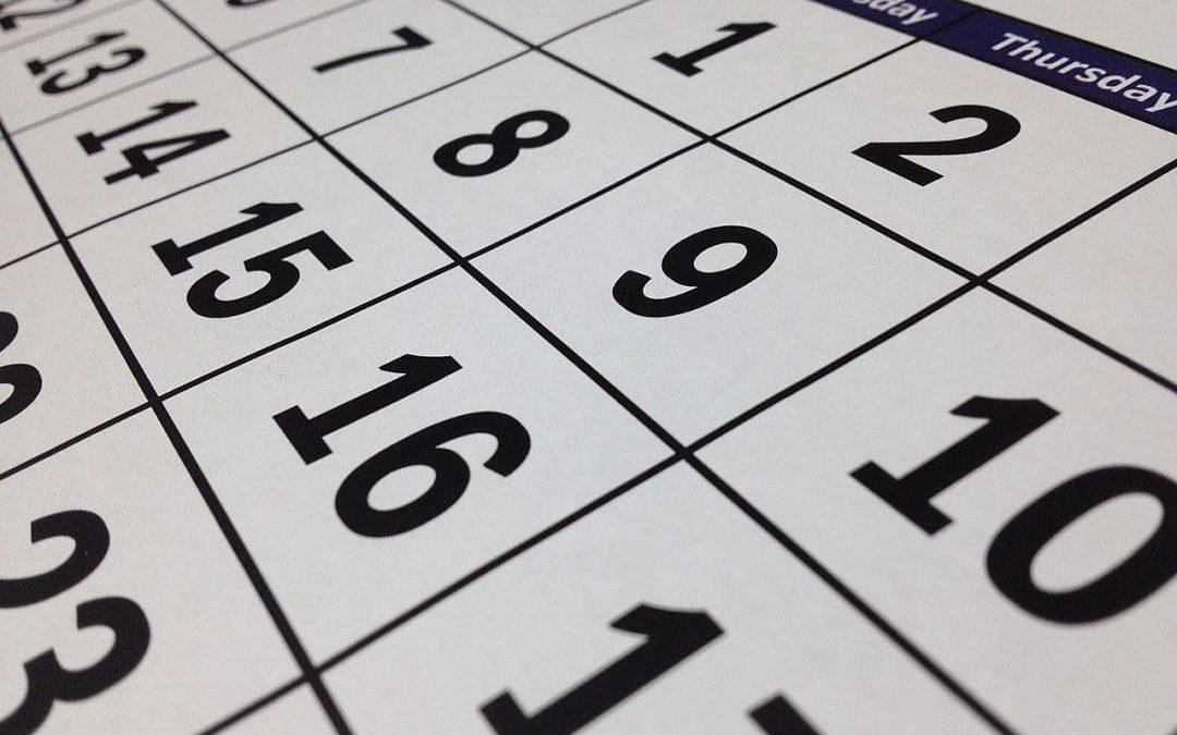 Calendario del Contribuyente para 2021